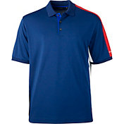 Walter Hagen Men's Americana Pique Colorblock Golf Polo