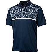 Walter Hagen Men's Topsail Chest Print Golf Polo