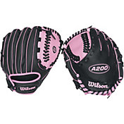 "Wilson 10"" Girls' T-Ball A200 Series Glove"