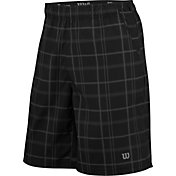 Wilson Men's Rush 10'' Plaid Tennis Shorts