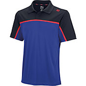Wilson Men's Colorblock Tennis Polo