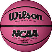 "Wilson NCAA Replica Pink Youth Basketball (27.5"")"