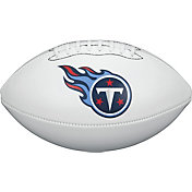Wilson Tennessee Titans Autograph Official-Size Football
