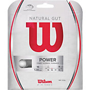 Wilson Natural Gut 16 Tennis String – 12.2M Set