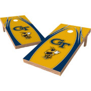Wild Sports 2' x 4' Georgia Tech Yellow Jackets XL Tailgate Bean Bag Toss Shields