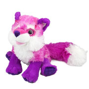 Wild Republic Sweet and Sassy Pink Fox Stuffed Animal
