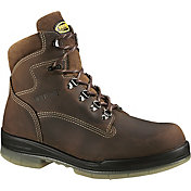 "Wolverine Men's DuraShocks 6"" Waterproof 200g Steel Toe Work Boots"