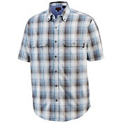 Wolverine Men's Ausbin Madras Short Sleeve Shirt
