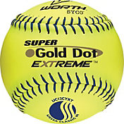 "Worth 12"" USSSA Super Gold Dot EXTREME Slow Pitch Softball"