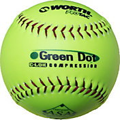 "Worth 11"" ASA Green Dot Slow Pitch Softball"