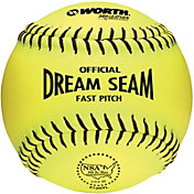 "Worth 12"" NSA Official Dream Seam Fastpitch Softball"