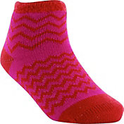 Yaktrax Infant Cozy Cabin Chevron Crew Socks