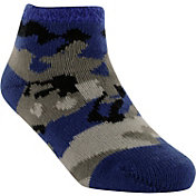Yaktrax Infant Cozy Cabin Camo Crew Socks