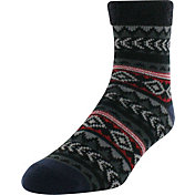Yaktrax Men's Tribal Nordic Cozy Cabin Socks