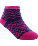 Yaktrax Toddler Cozy Chevron Cabin Socks