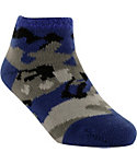 Yaktrax Toddler Cozy Camo Cabin Socks