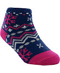 Yaktrax Toddler Cozy Nordic Cabin Socks
