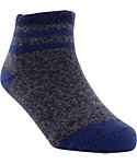 Yaktrax Toddler Cozy Top Stripe Cabin Socks