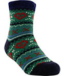 Yaktrax Kids' Cozy Flakes Cabin Socks