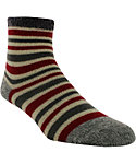 Yaktrax Kids' Cozy Thin Stripe Cabin Socks