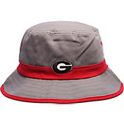 Zephyr Men's Georgia Bulldogs Grey Thunder Bucket Hat