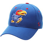 Zephyr Men's Kansas Jayhawks Blue Competitor Adjustable Hat