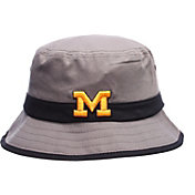 Zephyr Men's Michigan Wolverines Grey Thunder Bucket Hat
