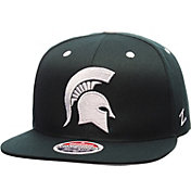 Zephyr Men's Michigan State Spartans Green Z11 Snapback Hat