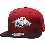Zephyr Men's Arkansas Razorbacks Cardinal/Black Z11 Snapback Hat
