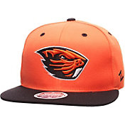 Zephyr Men's Oregon State Beavers Orange/Black Z11 Snapback Hat