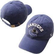 Zephyr Men's Vancouver Canucks Centerpiece Blue Adjustable Hat