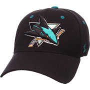 Zephyr Men's San Jose Sharks Breakaway Black Flex Hat