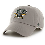 '47 Men's Oakland Athletics Clean Up Grey Adjustable Hat
