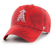 '47 Men's Los Angeles Angels Palma Clean Up Red Adjustable Hat