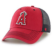 '47 Men's Los Angeles Angels Taylor Closer Red Fitted Hat