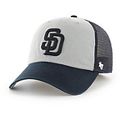 '47 Men's San Diego Padres Ravine Closer Grey/Navy Fitted Hat