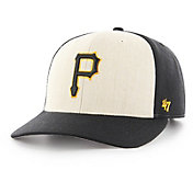 '47 Men's Pittsburgh Pirates Inductor MVP Black Adjustable Hat