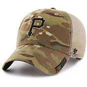 '47 Men's Pittsburgh Pirates Jericho Camo Clean Up Adjustable Hat