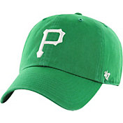'47 Men's Pittsburgh Pirates Clean Up St. Patrick's Day Green Adjustable Hat