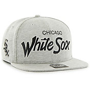 '47 Men's Chicago White Sox Honshu Captain Grey Adjustable Snapback Hat
