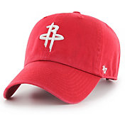 '47 Men's Houston Rockets Red Clean-Up Adjustable Hat