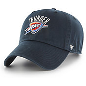 '47 Men's Oklahoma City Thunder Navy Clean-Up Adjustable Hat