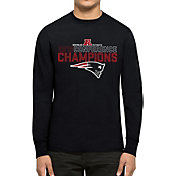 '47 Men's AFC Champions New England Patriots Splitter Navy Long Sleeve Shirt
