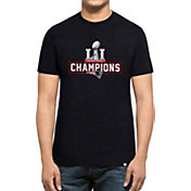 '47 Men's Super Bowl LI Champions New England Patriots Club Navy T-Shirt