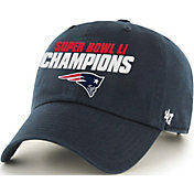 '47 Men's Super Bowl LI Champions New England Patriots Clean Up Navy Adjustable Hat