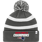 '47 Men's Super Bowl LI Champions New England Patriots Breakaway Grey Cuffed Knit