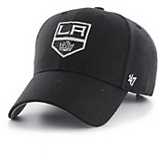 '47 Men's Los Angeles Kings MVP Black Structured Adjustable Hat