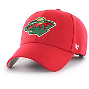 '47 Men's Minnesota Wild MVP Red Structured Adjustable Hat