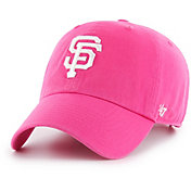 '47 Women's San Francisco Giants Clean Up Pink Adjustable Hat