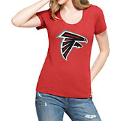 '47 Women's Atlanta Falcons Logo Red T-Shirt